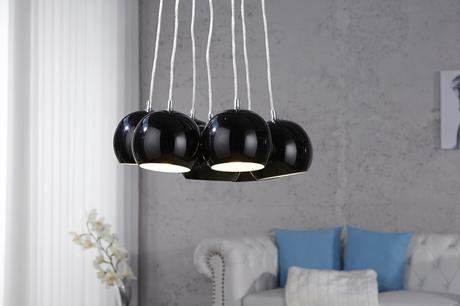 Lampa Black Pearls,