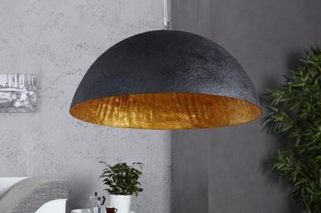 Lampa Glow black gold,
