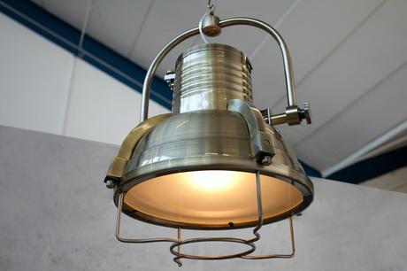 Lampa Industrial II bronze,