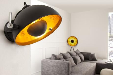 Lampa Studio Wall gold,