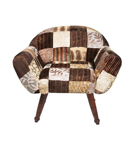 Patchwork Velvetin brown,