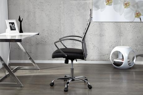 Pracovná stolička Big Deal Blk,