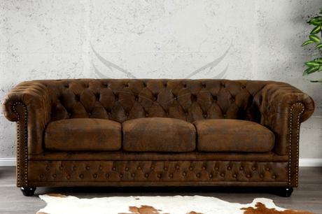 Sedačka Chesterfield 3 Vintage,