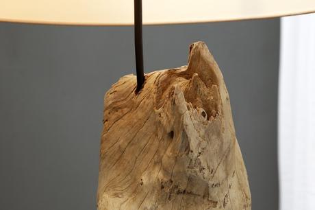 Stojanová lampa Rouselin Creme,