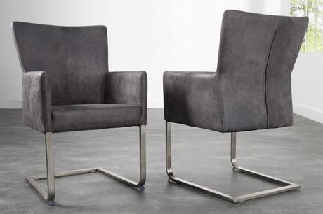 Stolička Nobyta II grey,