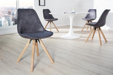 Stolička Scener Chair Antik Grey,