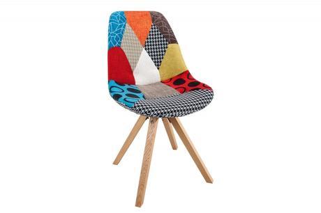 Stolička Scener Chair Patchwork,