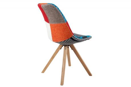 Stolička Scener Chair Patchwork,