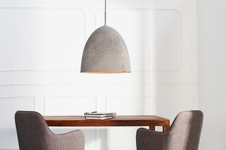 Závesná lampa Cement Grey,