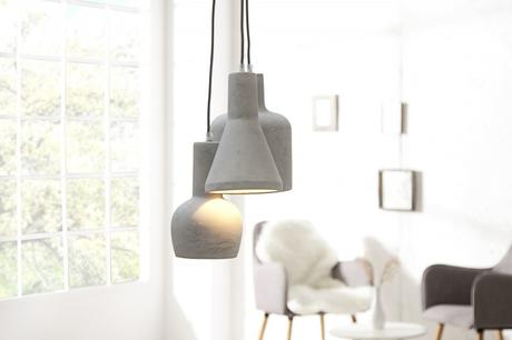 Závesná lampa Cement Multi Grey 3 Set,