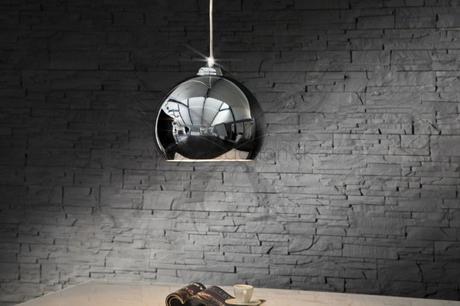 Závesná lampa Chromagon,
