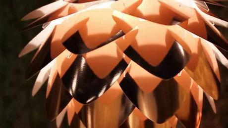 Závesná lampa Conia Copper Mini,