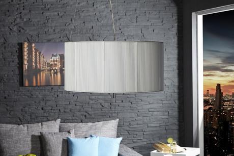 Závesná lampa Extensis White,