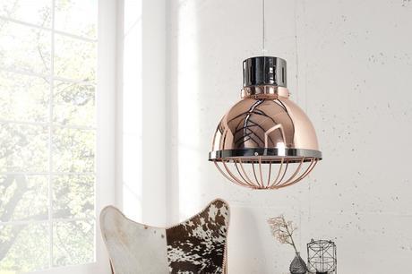 Závesná lampa Factory 25 Duncan,