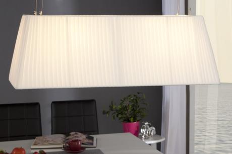 Závesná lampa Glory White,