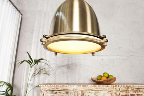 Závesná lampa Industrial 35 Bronze,