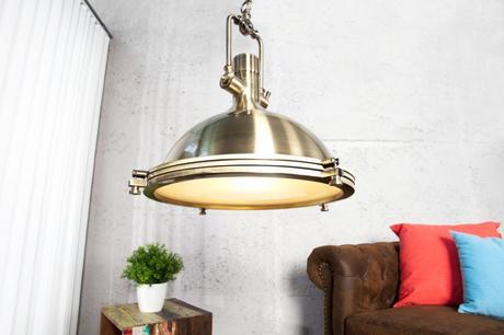 Závesná lampa Industrial 45 Bronze,