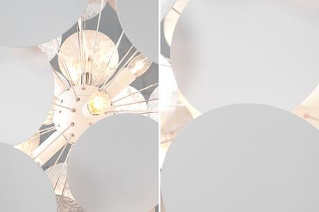 Závesná lampa Infor White,
