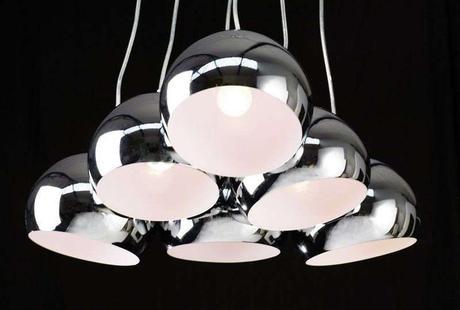 Závesná lampa Perlota M,