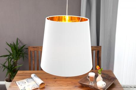 Závesná lampa Sapphire White Gold,