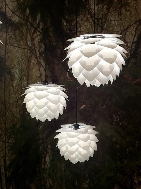 Závesná lampa Silvia,