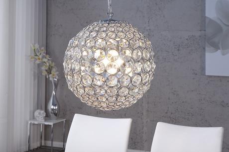 Závesná lampaCrystal Globe,