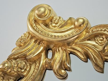 Zrkadlo Baroque Booklet Gold,