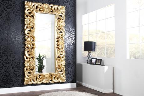 Zrkadlo Baroque L gold,