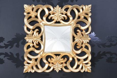 Zrkadlo Baroque S silver,