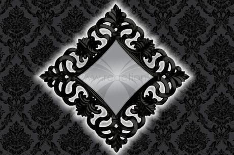 Zrkadlo Baroque XL Gold,