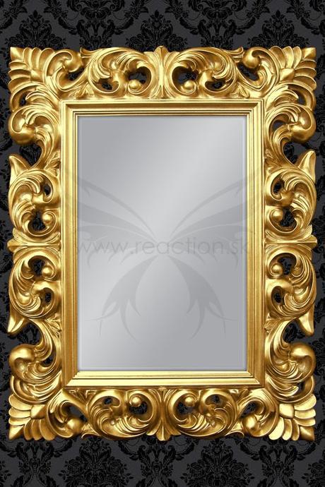 Zrkadlo Bonder II Gold,