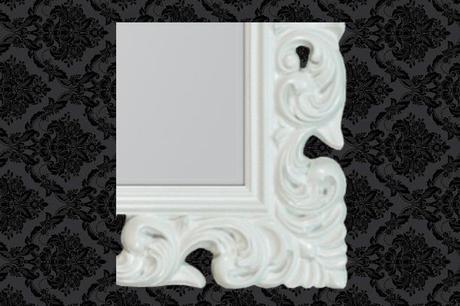 Zrkadlo Bonder white,