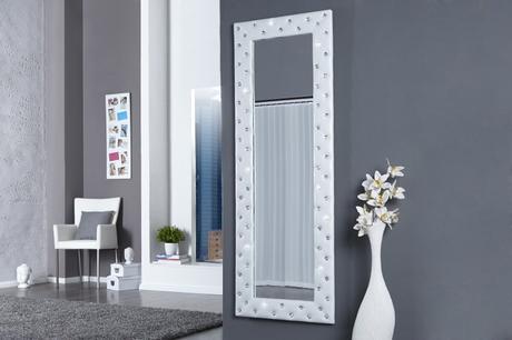 Zrkadlo Butique L white,
