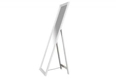 Zrkadlo Carved White,