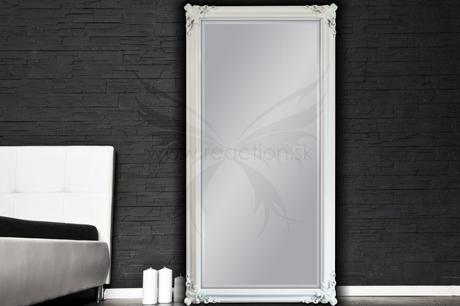 Zrkadlo Desire silver,