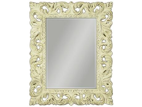 Zrkadlo Glamour Old creme,