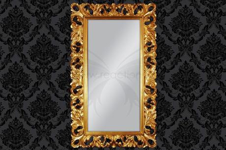 Zrkadlo Middle Gold,