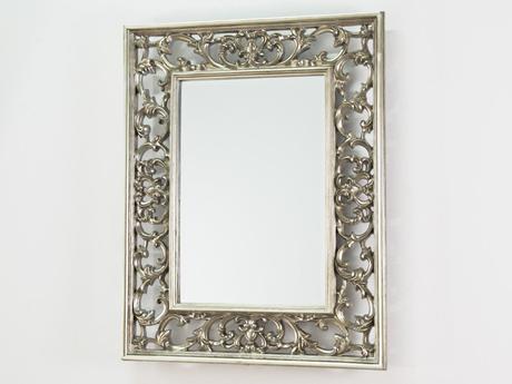 Zrkadlo Net Silver,