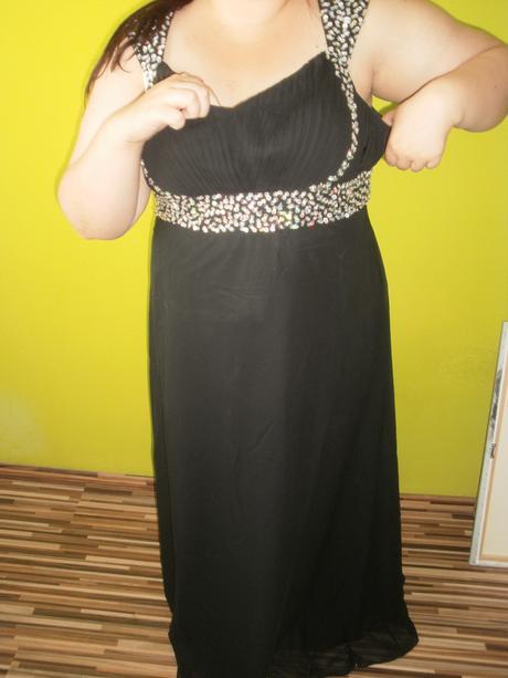 nenosene dlhé čierne šaty 50, 50