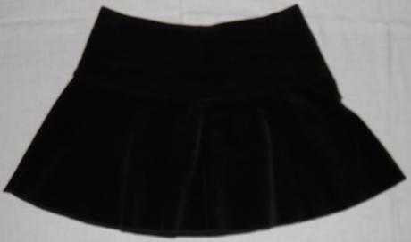 10 dámska elastická minisukňa, 36