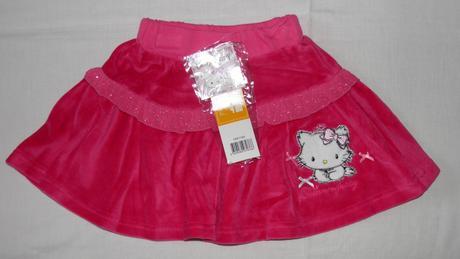 52 dievčenská sukňa, nenosená, sanrio , 104