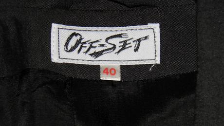 58a dámske ľanové sako, off-set, 40
