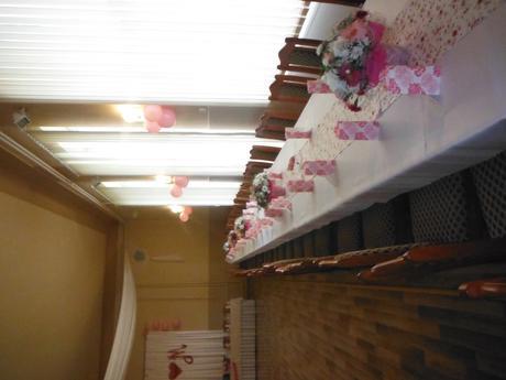 Stredové kvetinové štóly na stoly,
