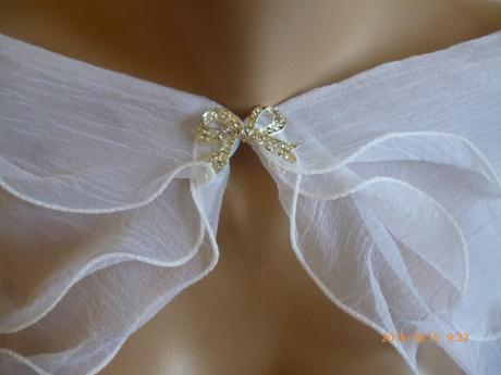 Bolerko na svadobné šaty,