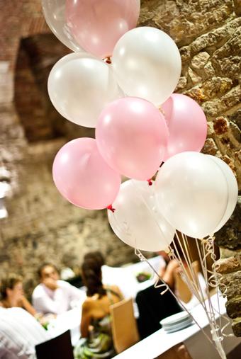 Balónková dekorace,