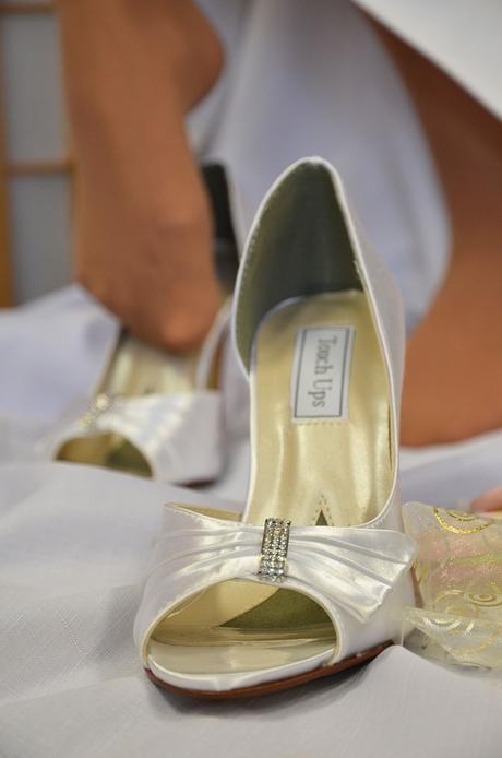 Bílé svatební střevíčky, 37