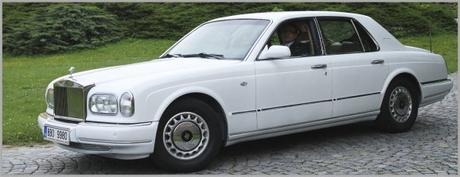 Pronájem luxusní limuzíny Rolls-Royce Silver Serap,