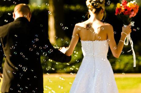 Svatební bublifuky,