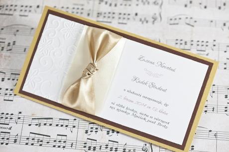 Svatební oznámení Píseň lásky,