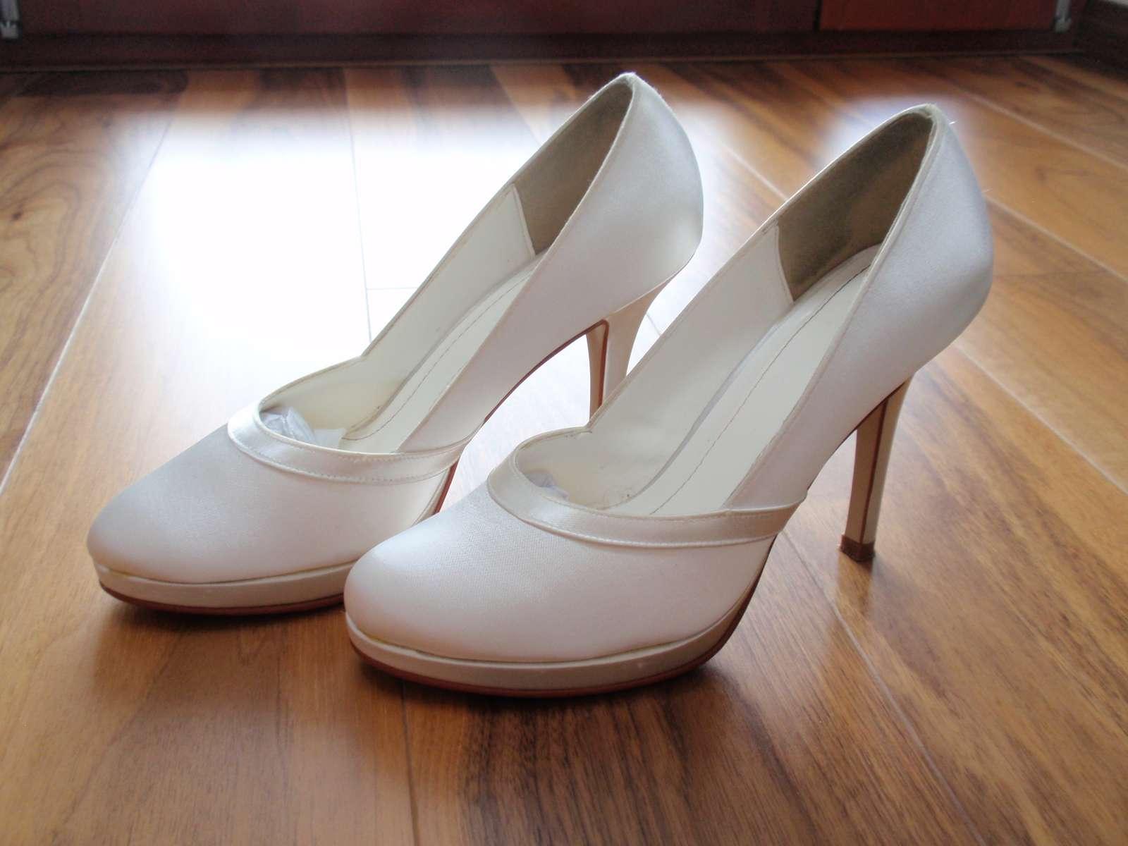 Dámské svatební boty merlot 4558fe4cae